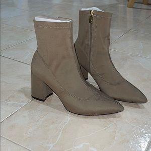 Public Desire sock boots khaki